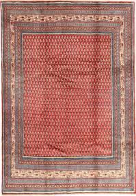 Sarough Mir Matto 213X305 Itämainen Käsinsolmittu Tummanpunainen/Ruoste (Villa, Persia/Iran)