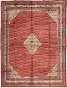 Sarough Mir Matto 295X389 Itämainen Käsinsolmittu Tummanpunainen/Vaaleanpunainen Isot (Villa, Persia/Iran)