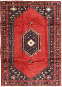 Klardasht Matto 199X282 Itämainen Käsinsolmittu Tummanpunainen/Musta (Villa, Persia/Iran)