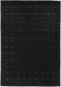 Loribaf Loom Delta - Musta/Harmaa Matto 160X230 Moderni (Villa, Intia)