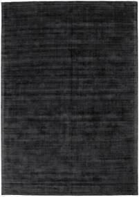 Tribeca - Charcoal Matto 240X340 Moderni Musta/Tummanharmaa ( Intia)