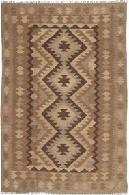 Kelim Maimane Matto 193X295 Itämainen Käsinkudottu Ruskea/Vaaleanruskea (Villa, Afganistan)