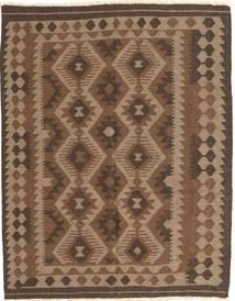 Kelim Maimane Matto 148X187 Itämainen Käsinkudottu Ruskea/Tummanruskea (Villa, Afganistan)