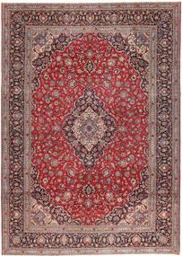 Keshan Patina Matto 295X410 Itämainen Käsinsolmittu Tummanpunainen/Pinkki Isot (Villa, Persia/Iran)