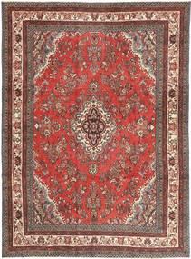 Hamadan Patina Matto 260X350 Itämainen Käsinsolmittu Tummanpunainen/Ruoste Isot (Villa, Persia/Iran)