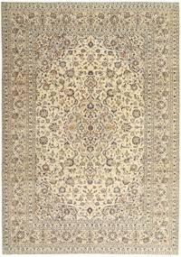 Keshan Patina Matto 243X340 Itämainen Käsinsolmittu Beige/Vaaleanharmaa (Villa, Persia/Iran)