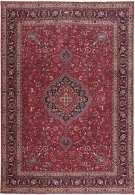 Mashad Patina Matto 305X440 Itämainen Käsinsolmittu Tummanpunainen/Tummanruskea Isot (Villa, Persia/Iran)