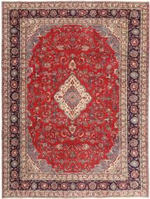 Sarough Patina Matto 268X360 Itämainen Käsinsolmittu Tummanpunainen/Beige Isot (Villa, Persia/Iran)