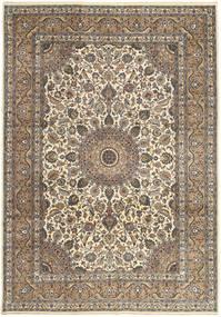 Keshan Patina Matto 242X347 Itämainen Käsinsolmittu Vaaleanharmaa/Vaaleanruskea (Villa, Persia/Iran)