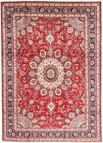 Hamadan Shahrbaf Matto 210X297 Itämainen Käsinsolmittu Tummanpunainen/Beige (Villa, Persia/Iran)