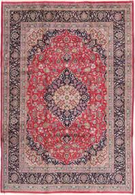 Kashmar Matto 240X345 Itämainen Käsinsolmittu Vaaleanvioletti/Tummanruskea (Villa, Persia/Iran)