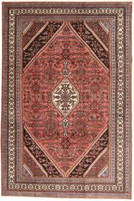 Hamadan Patina Matto 210X320 Itämainen Käsinsolmittu Tummanpunainen/Ruskea (Villa, Persia/Iran)