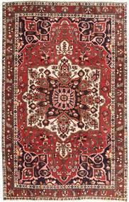 Bakhtiar Patina Matto 200X315 Itämainen Käsinsolmittu Tummanpunainen/Ruskea (Villa, Persia/Iran)