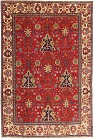 Tabriz Patina Matto 210X322 Itämainen Käsinsolmittu Tummanpunainen/Ruoste (Villa, Persia/Iran)