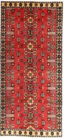 Ghashghai Patina Matto 135X307 Itämainen Käsinsolmittu Käytävämatto Tummanpunainen/Ruoste (Villa, Persia/Iran)