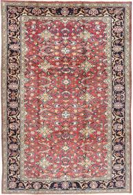 Mahal Matto 220X335 Itämainen Käsinsolmittu Vaaleanharmaa/Ruskea (Villa, Persia/Iran)