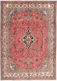 Hamadan Patina Matto 203X298 Itämainen Käsinsolmittu Vaaleanpunainen/Tummanpunainen (Villa, Persia/Iran)
