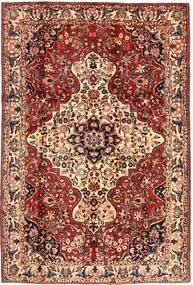 Bakhtiar Matto 215X315 Itämainen Käsinsolmittu Tummanruskea/Tummanpunainen (Villa, Persia/Iran)