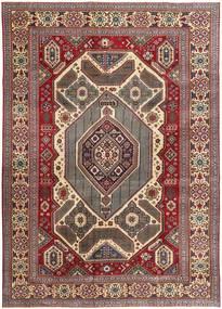 Tabriz Patina Matto 267X375 Itämainen Käsinsolmittu Tummanpunainen/Tummanruskea Isot (Villa, Persia/Iran)