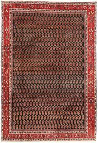 Arak Matto 199X290 Itämainen Käsinsolmittu Tummanruskea/Tummanpunainen (Villa, Persia/Iran)