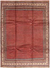 Sarough Mir Matto 230X308 Itämainen Käsinsolmittu Tummanpunainen/Vaaleanruskea (Villa, Persia/Iran)