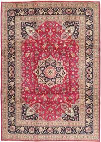 Kashmar Matto 246X343 Itämainen Käsinsolmittu Vaaleanpunainen/Tummanpunainen (Villa, Persia/Iran)