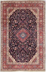 Hamadan Shahrbaf Matto 210X325 Itämainen Käsinsolmittu Ruskea/Vaaleanvioletti (Villa, Persia/Iran)