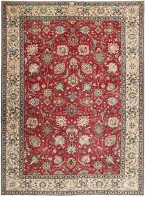 Tabriz Patina Matto 284X390 Itämainen Käsinsolmittu Tummanruskea/Vaaleanharmaa Isot (Villa, Persia/Iran)