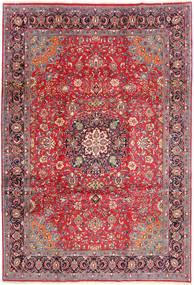 Sarough Matto 227X326 Itämainen Käsinsolmittu Tummanpunainen/Ruskea (Villa, Persia/Iran)