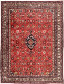 Hamadan Shahrbaf Patina Matto 313X413 Itämainen Käsinsolmittu Tummanpunainen/Ruoste Isot (Villa, Persia/Iran)
