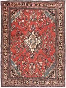 Hamadan Shahrbaf Patina Matto 266X360 Itämainen Käsinsolmittu Tummanpunainen/Ruoste Isot (Villa, Persia/Iran)