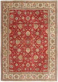 Tabriz Patina Matto 239X335 Itämainen Käsinsolmittu Ruoste/Ruskea (Villa, Persia/Iran)