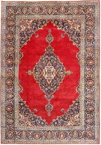 Keshan Matto 240X350 Itämainen Käsinsolmittu Tummanpunainen/Punainen (Villa, Persia/Iran)