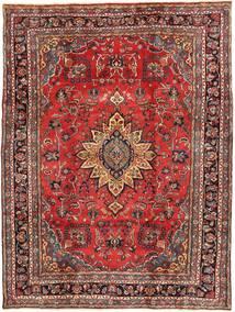 Hamadan Shahrbaf Patina Matto 220X300 Itämainen Käsinsolmittu Tummanpunainen/Tummanruskea (Villa, Persia/Iran)