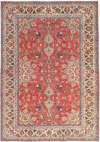 Tabriz Patina Matto 229X325 Itämainen Käsinsolmittu Tummanpunainen/Beige (Villa, Persia/Iran)