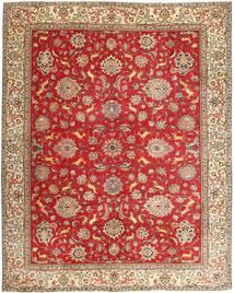 Tabriz Patina Matto 295X365 Itämainen Käsinsolmittu Ruoste/Ruskea Isot (Villa, Persia/Iran)