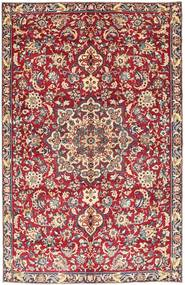 Najafabad Patina Matto 189X290 Itämainen Käsinsolmittu Punainen/Tummanpunainen (Villa, Persia/Iran)