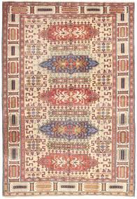 Ardebil Patina Matto 138X200 Itämainen Käsinsolmittu Tummanpunainen/Beige (Villa, Persia/Iran)
