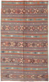 Kelim Turkki Matto 180X305 Itämainen Käsinkudottu Ruskea/Tummanruskea (Villa, Turkki)