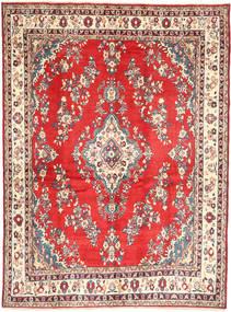 Hamadan#Shahrbaf Matto 213X288 Itämainen Käsinsolmittu Tummanbeige/Ruoste (Villa, Persia/Iran)