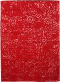 Orient Express - Punainen Matto 210X290 Moderni Käsinsolmittu Punainen/Ruoste (Villa/Bambu Silkki, Intia)