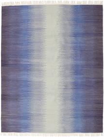 Ikat - Tumma Sininen Matto 190X240 Moderni Käsinkudottu Vaaleanharmaa/Violetti (Villa, Intia)