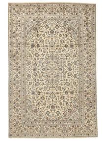 Keshan Matto 238X355 Itämainen Käsinsolmittu Beige/Tummanbeige/Vaaleanharmaa (Villa, Persia/Iran)