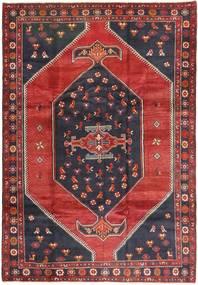 Klardasht Matto 200X295 Itämainen Käsinsolmittu Tummanpunainen/Musta (Villa, Persia/Iran)