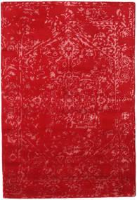 Orient Express - Punainen Matto 140X200 Moderni Käsinsolmittu Punainen (Villa/Bambu Silkki, Intia)