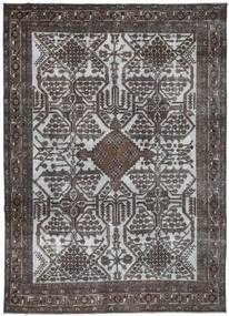 Colored Vintage Matto 250X343 Moderni Käsinsolmittu Tummanharmaa/Vaaleanharmaa/Tummanruskea Isot (Villa, Persia/Iran)