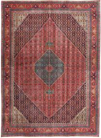 Bidjar Patina Matto 283X382 Itämainen Käsinsolmittu Tummanpunainen/Tummanruskea Isot (Villa, Persia/Iran)