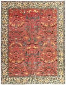 Tabriz Patina Matto 248X318 Itämainen Käsinsolmittu Tummanpunainen/Ruoste (Villa, Persia/Iran)