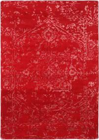 Orient Express - Punainen Matto 160X230 Moderni Käsinsolmittu Punainen (Villa/Bambu Silkki, Intia)