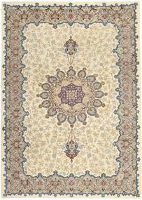 Keshan Patina Matto 264X368 Itämainen Käsinsolmittu Vaaleanharmaa/Beige Isot (Villa, Persia/Iran)